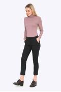 Чёрные женские брюки Emka D036/alessia