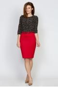 Красная юбка Emka Fashion 544-adelina