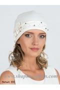 Белая женская шапочка Willi Szura