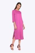 Платье пурпурного цвета Emka PL749/damiana