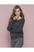 Женская блузка графитового цвета Zaps Eris