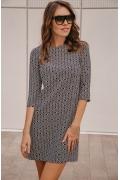 Платье с рукавом три четверти Donna Saggia DSP-249-78