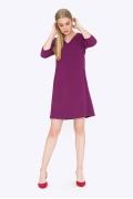 Повседневное платье А-силуэта Emka PL664/magenta