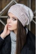 Женская двухцветная шапка SuperShapka Sirena