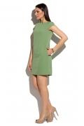 Летнее платье оливкового цвета Donna Saggia DSP-56-9