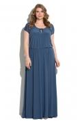 Длинное трикотажное платье Donna Saggia DSPB-05-92t