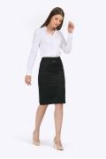 Чёрная юбка-карандаш Emka S369/djolin