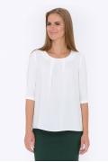 Белая блуза Emka Fashion b 2197/anet