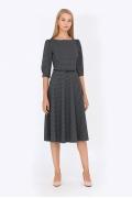 Платье в горошек Emka Fashion PL-407/redis