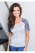Женская летняя блузка TopDesign A7 079