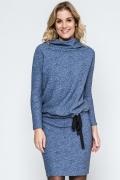 Блузка с воротником-хомут Enny 240141