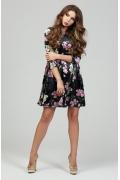 Нарядное платье из бархата Donna Saggia DSP-311-4t