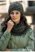 Зеленая женская шапка Kamea Reina