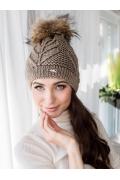 Женская вязаная шапка Veilo 32.59
