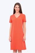 Летнее платье яркого цвета Emka PL-587/anastasiya