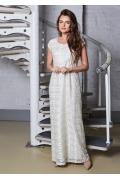 Длинное летнее платье TopDesigm A8 038 (коллекция лето 2018)