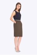 Женская юбка Emka S662/cypress