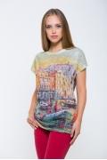 Женская футболка Issi 171111 (коллекция 2017)
