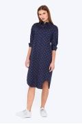 Платье-рубашка из хлопка Emka Fashion PL-601/lacoste