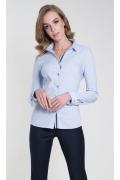 Женская голубая рубашка Zaps Maila