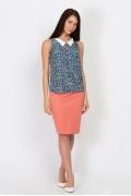 Блузка без рукавов Emka Fashion b 2156/ninel