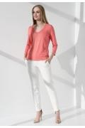 Блузка летняя кораллового цвета Sunwear I06-4-61