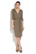 Платье с v-образным вырезом Donna Saggia DSP-261-12t