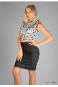 Чёрная юбка-карандаш Emka Fashion | 255/55-meggy
