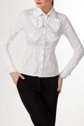 Белая офисная блузка | Б699-724