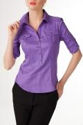 Фиолетовая блузка | Б764-1252