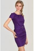 Фиолетовое платье Donna Saggia