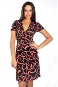 Трикотажное платье Donna Saggia DSP-23-11t