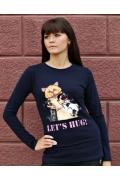 Джемпер женский Let's Hug!