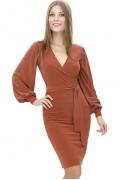 Элегантное платье с запахом | DSP-36-21t