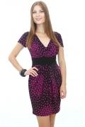 Трикотажное платье-тюльпан | DSP-22-25t