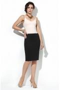 Чёрная юбка-карандаш Donna Saggia DSU-06-4t