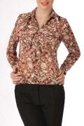 Стильная блузка Golub из шифона | Б782-1255