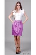 Яркая миди-юбка цвета фуксии | 154-redox5