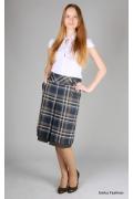 Модная юбка в клетку | 266-lorena