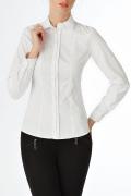 Офисная рубашка белого цвета | Б785-724