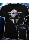 Клубная мужская футболка Master Yoda (Светится в темноте и ультрафиолете)