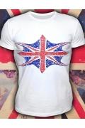Клубная мужская футболка Флажок (светится в УФ)