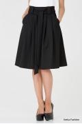 Шикарная юбка черного цвета 247-brianna