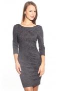 Платье из стрейч-жаккарда | DSP-42-5