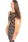 Платье-футляр из ткани джерси | DSP-45-24t