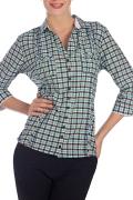 Женская рубашка в клетку (Весна 2012) | Б794-1364