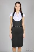 Офисный сарафан Emka Fashion | 278-paula