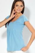 Голубая футболка для девушек | 3591/1