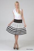Летняя юбка с завышенной талией | 244-camila