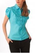 Бирюзовая блузка 2012 | Б811-1403
